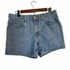 Polo Ralph Lauren Womens Saturday Jean Shorts Blue
